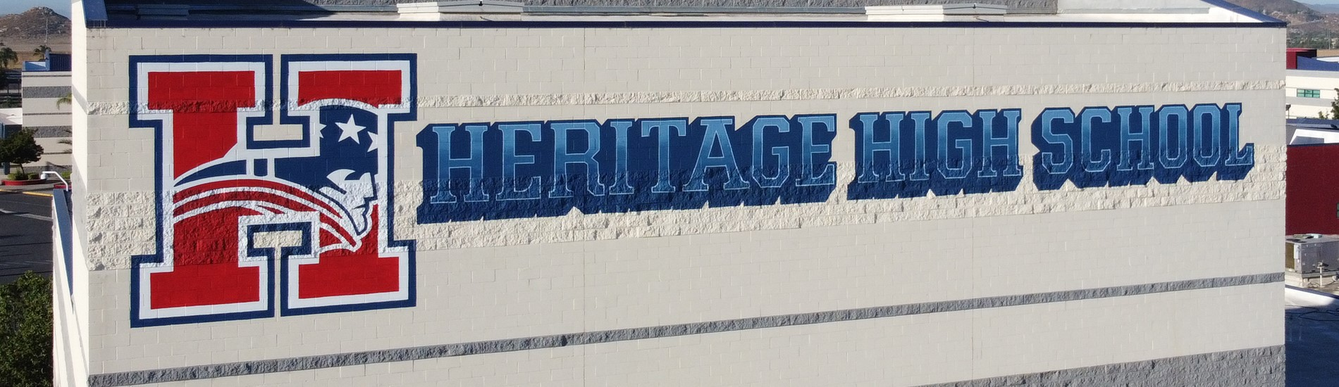 Heritage High Sign